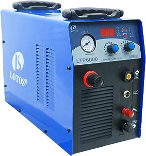 Lotos Technology LTP6000 60Amp Non-Touch Pilot Arc Plasma Cutter, Blue, 3/4