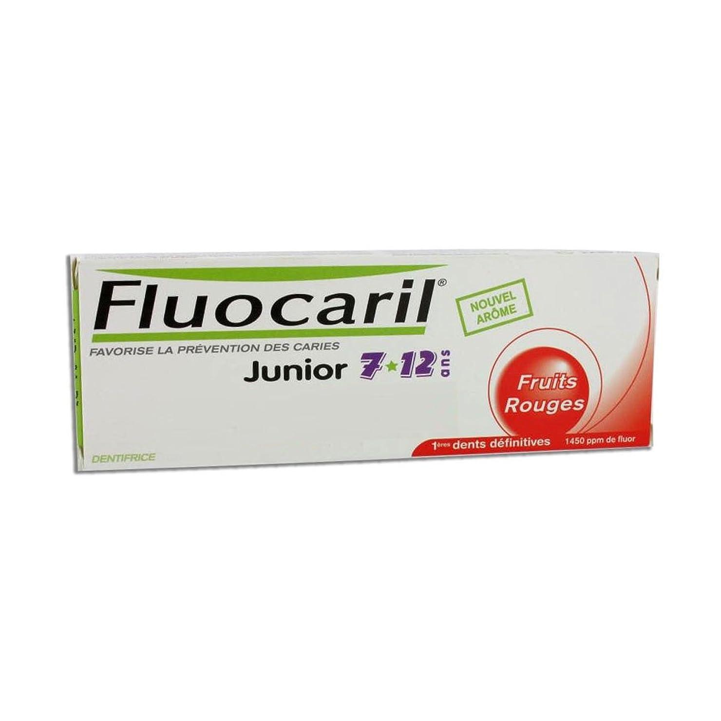 ジェームズダイソンピンチ万一に備えてFluocaril Junior 6 To 12 Toothpaste Red Fruits 50ml [並行輸入品]