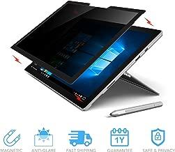 ZBRANDS // Microsoft Surface Pro Magnetic Privacy Screen Anti-Glare | Anti-Spy Glass Screen Film (Surface Pro 4/5/6)