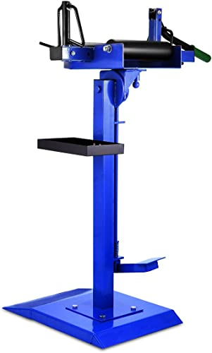 lowest Mophorn Manual Tire Spreader Portable Tire Changer lowest with Stand Adjustable Tire Spreader Tool for Light Truck and Car sale (Tire Spreader) sale