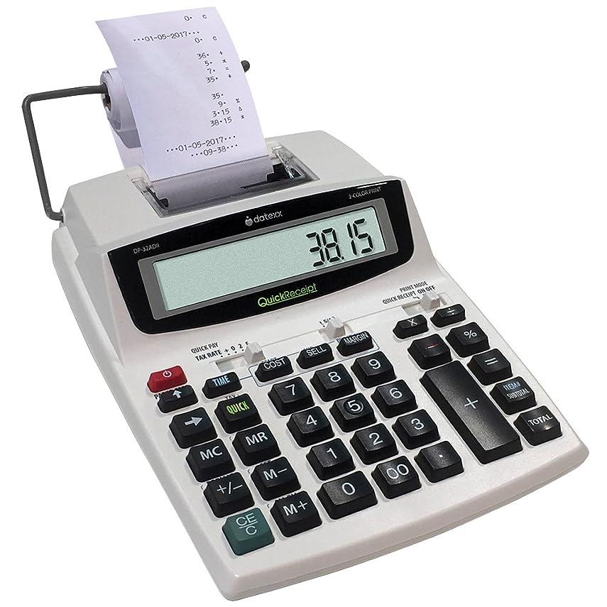 株式浴回復クイック入金スマート印刷電卓W/ペーパーロールfor会計レコード