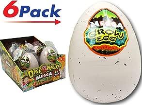 JA-RU Mega Hatching Egg Dinosaurs XXL (Pack of 6) Item #1747-6