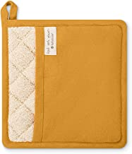 Full Circle Kind Collection Plant-Dyed Organic Cotton, Pot Holder, Turmeric