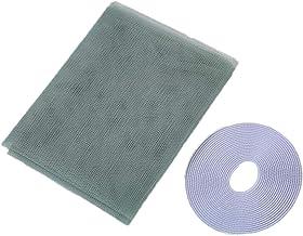 ZLIAN Klamboe For Windows, Insektengaas Net, Window Fly Screen Mesh, 1,3 M * 1,5 M Mosquito Protector Kit Protector Met Ze...