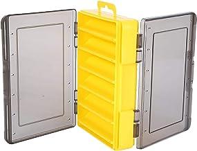 Visgerei Box, Dubbelzijdige Opslag Vissen Lokken Haak Tackle Opbergkoffer, Verstelbare Dividers Organizer Container voor G...