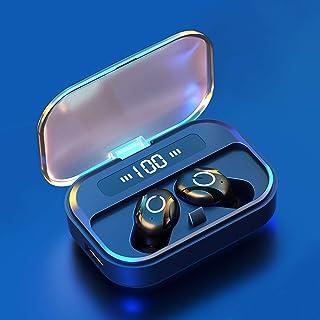 True Wireless Earbuds, 5.0 Bluetooth Headphones in-Ear TWS Stereo Wireless Earphones with Charging Case Bluetooth Earbuds,...