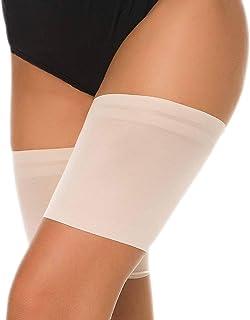 muslo elástico muslo anti-chafing bandas para Hombre y Mujer Anti Ferture Banda De Silicona Calcetines Antideslizantes de Silicona de Bandas