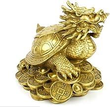 Statues Statue Copper Statue Pure Dragon Tortoise-As_Shown_Long_30Cm