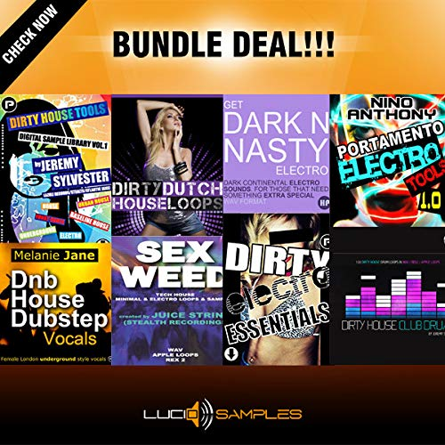 Dirty House Bundle - Tools for House and Electro Music Production | DVD non Box