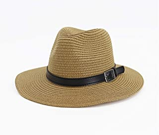 Lei Zhang Women Men Adjustable Travel Summer Sun Starw Hat Foldable Brim Trilby Bowler 2019