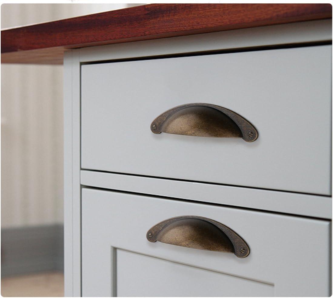 2.5 Antique bronze drawer knob dresser pull handle kitchen cabinet door knob decorative wardrobe handle vintage cupboard knob 2 12 64mm