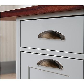 Vintage Brass  Kitchen Cabinet Knobs Pulls Drawer Cupboard Door Handles SL