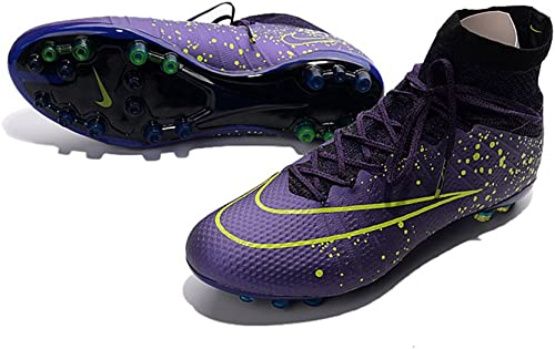 Frank Football Hommes Chaussures de Football Mercurial Superfly AG pour bottes