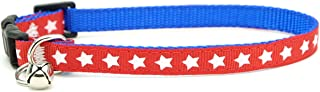 Cat Collar - Super Hero Stars! Marvel Collar- Captain America Collar-