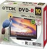 TDK DVD‐R 大切な映像の長期保存に。 DR120DPWC10UE 10枚
