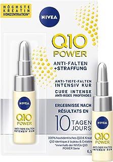 NIVEA Q10 Power Tratamiento Antiarrugas + Firmeza 10 días en (65 ml) ampollas antiedad con coenzima Q10 y creatina para ...