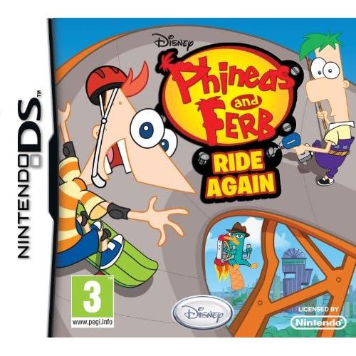 Phineas and Ferb: Ride Again (Nintendo DS) [Edizione: Regno Unito]