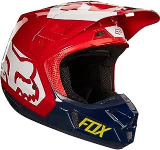 Fox Helmet V 2 Preme, ECE Navy/Red