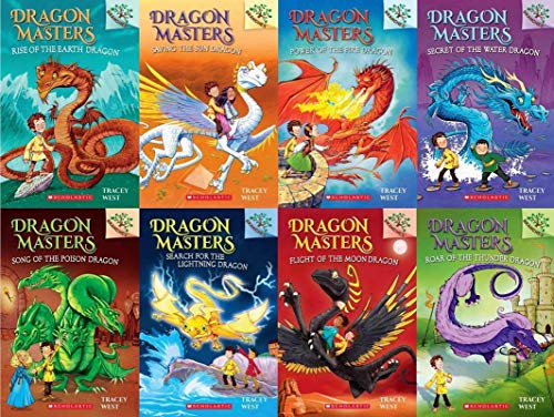 Dragon Masters Series Set ( Books 1 - 8 )