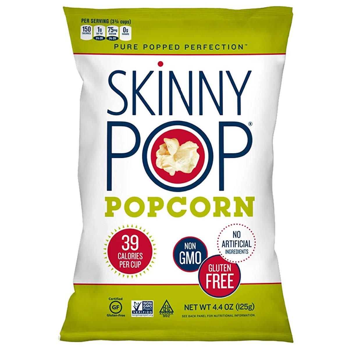 SkinnyPop Trust Orignal Popcorn 4.4oz Grocery Pop Bags Ranking integrated 1st place Skinny Size