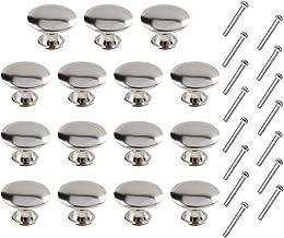 Huture Set van 15 laden knoppen kast knoppen ronde meubelknoppen commodes knoppen knop pull knop meubelgreep afgeronde ant...