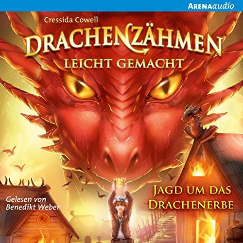 Jagd um das Drachenerbe (Drachenzähmen leicht gemacht 9) audiobook cover art