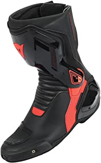 Dainese Nexus Mens Motorcycle Boots Black/Fluo Red 43 Euro/10 USA