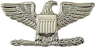 Metal Rank Insignia, Col. Eagle, Nickel, PR