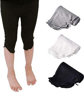 ESTINE Girl's Spring/Summer Cotton School Legging Capri Pants