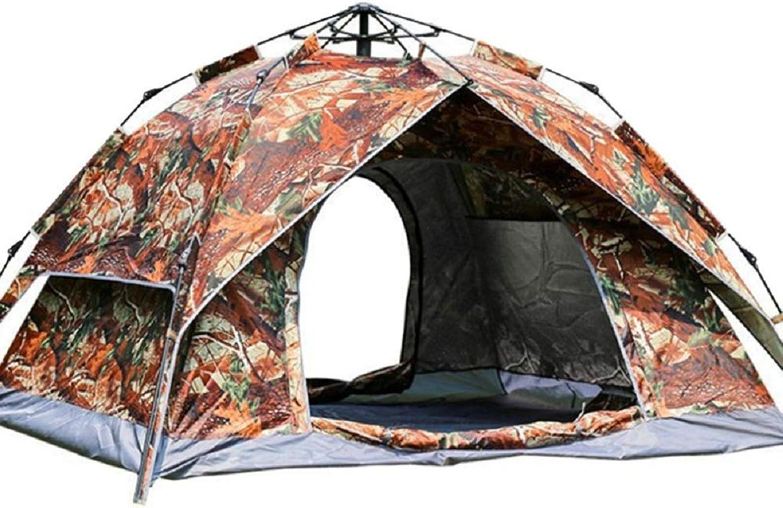 XWH Outdoor Camping Automatikzelt, selbstfahrendes, tragbares Camping Tarnzelt, 3-4 3-4 3-4 Personen Campingzelt,Tarnen,Montag Montag B07MG953JN  Luxus 43bea2