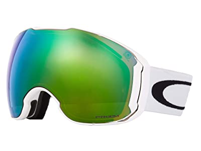 Oakley Airbrake XL Large (Polished White/Prizm Jade/Prizm Sapphire) Goggles