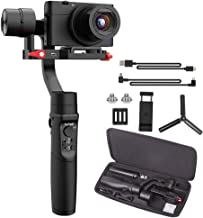 Hohem iSteady Multi 3-Axis Handheld Gimbal Stabilizer for Digital Camera Action Camera & Smartphone 8hrs Working Time 600° Pan Rotation Trigger Button Fully New App 6 Creative Modes