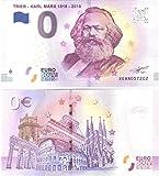 """Karl Marx 0 Euro Schein  Trier - Karl Marx 1818 - 2018 """" Souvenirschein Deutschland Null € 2018 -"""