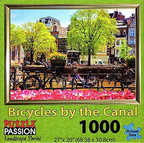 Bahndad Bicicleta por el canal Juego de rompecabezas para ni