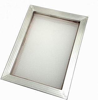 CROSYO Cadre d'aluminium d'impression d'écran 1PC 41cm * 51cm avec microester de Polyester d'impression de Soie 32T-120T B...