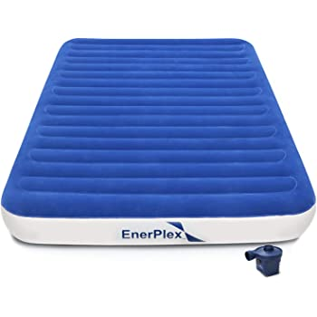 BswolfnOutdoor Inflatable Mattress Size 195x70x9 self inflatable mattress