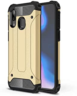 PICKQIU Case for HTC U11 Eyes, Heavy Duty Case,Shockproof Tough Armour Military Metal Case 360 Full Body Protective Case Cover for HTC U11 Eyes Smart phone -Gold