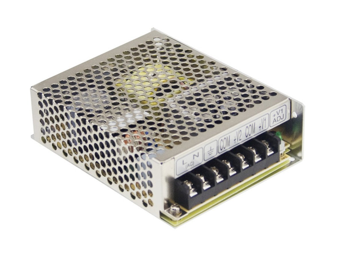 MEAN WELL RS-75-12 AC to DC Power Supply, Single Output, 12V, 6 Amp, 72W, 1.5