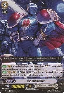 Cardfight!! Vanguard TCG - Mr. Invincible (TD03/003EN) - Trial Deck 3: Golden Mechanical Soldier
