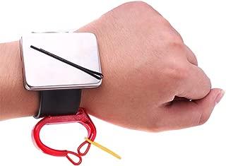 Magnetic Bobbie Pin Hair Clips Bracelet, Bobby Pins Wristband Holder, Elastic Rubber Bands Holder