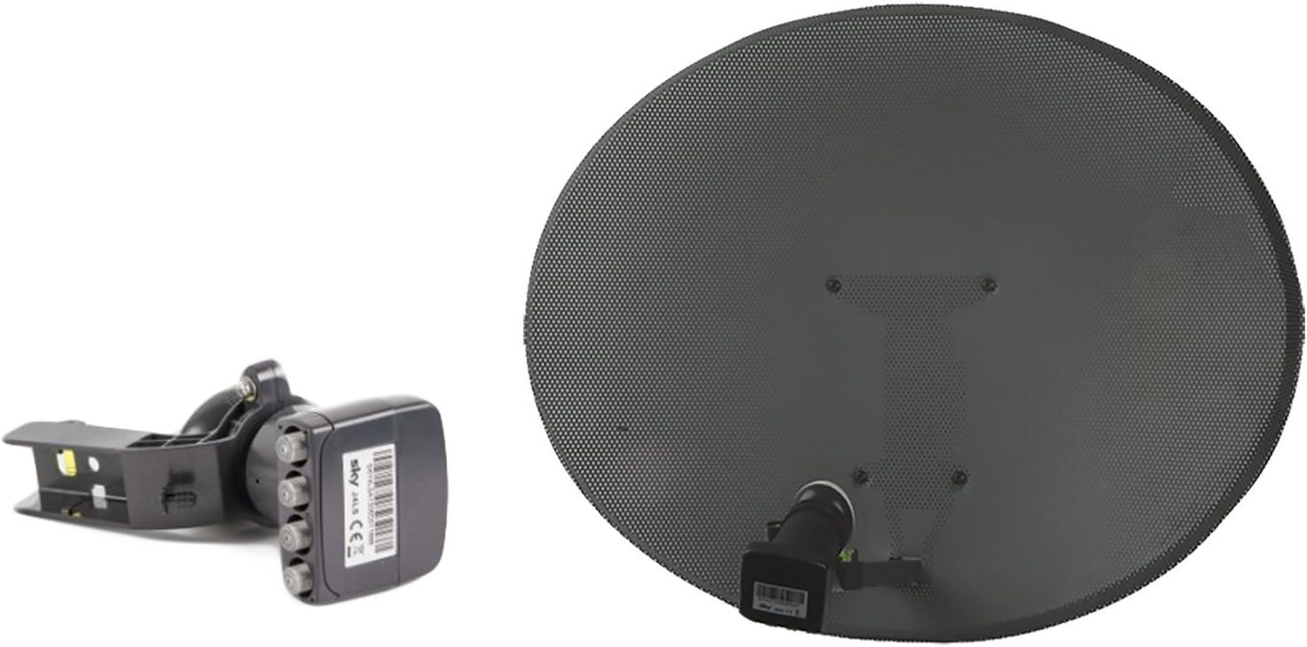 Sky / Freesat Satellite Dish uso o Gratis TV Entrega Rápida