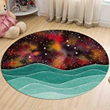 Flannel Warm Carpet Living Room Study Coffee Table Pad Bedside Round Rugs Balcony Bay Window Chair Cushion,4,60cm