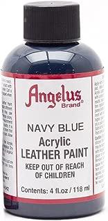 Angelus Leather Paint 4 Oz Navy