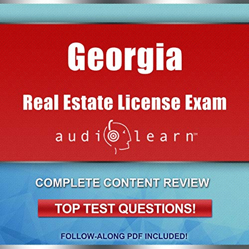 Georgia Real Estate License Exam AudioLearn  By  cover art