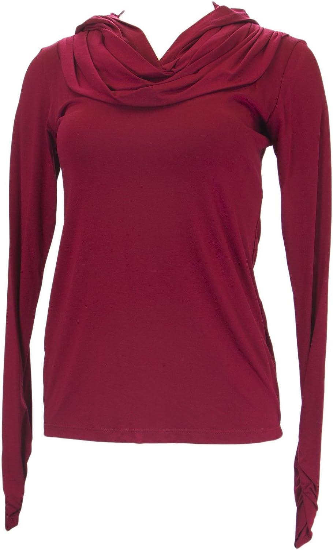 ANALILI Women's Long Sleeve Hooded Top 554R18
