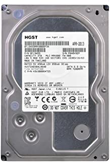 HGST Ultrastar 7K4000hus724030ala6403tb 64MBキャッシュ7200rpm SATA III 6.0GB/s 3.5インチエンタープライズ内蔵ハードドライブ(認定Refurbished) W / 1年保証