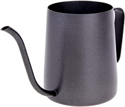 Long Narrow Spout Coffee Pots Hanging Ears Drip Gooseneck Spout Stainless Steel Kettle for Coffee Lover 350ml