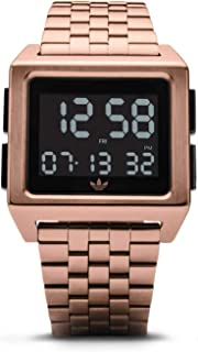 Watches Archive_M1. Men's 70's Style Stainless Steel Digital Watch with 5 Link Bracelet (36 mm).