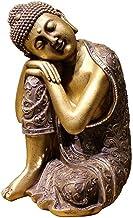 Home Accessories Sleeping Buddha Statue, Meditation Buddha Statue Sculpture, Buddha Statue Resin Ornaments, Home Garden De...