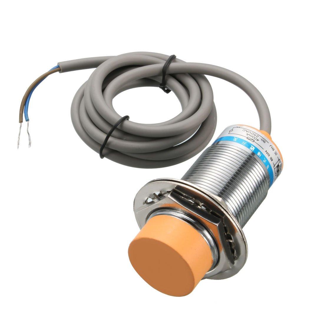 uxcell 25mm Under blast sales Capacitive Super-cheap Proximity Sensor 90 Detector NO Switch AC